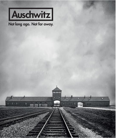AUSCHWITZ: NOT LONG AGO. NOT FAR AWAY. BY ROBERT VAN PELT - HARDCOVER
