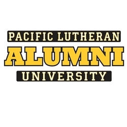 PLU ALUMNI SMALL DECAL