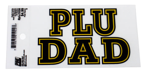 PLU DAD DECAL
