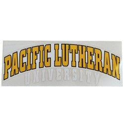 PACIFIC LUTHERAN UNIVERSITY ARCH DECAL 3x8