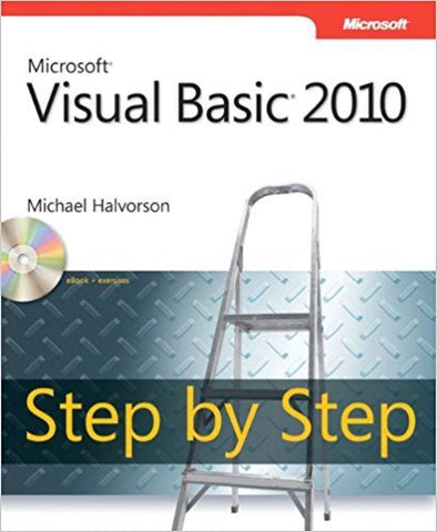M.J. Halvorson - MICROSOFT VISUAL BASIC 2010: STEP BY STEP - Paperback