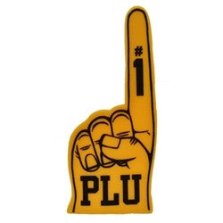 PLU YELLOW FOAM FINGER