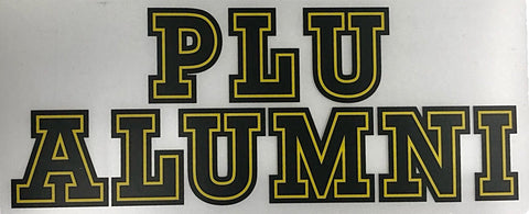 LARGE ALUMNI DECAL