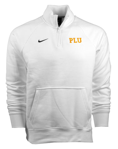 NIKE MENS CLUB 1/4 ZIP SWEATSHIRT WITH PLU