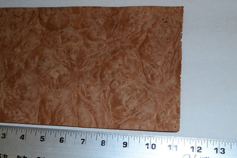 Chestnut Burl Raw Wood Veneer Sheets 6 X 11 Inches 1 42nd