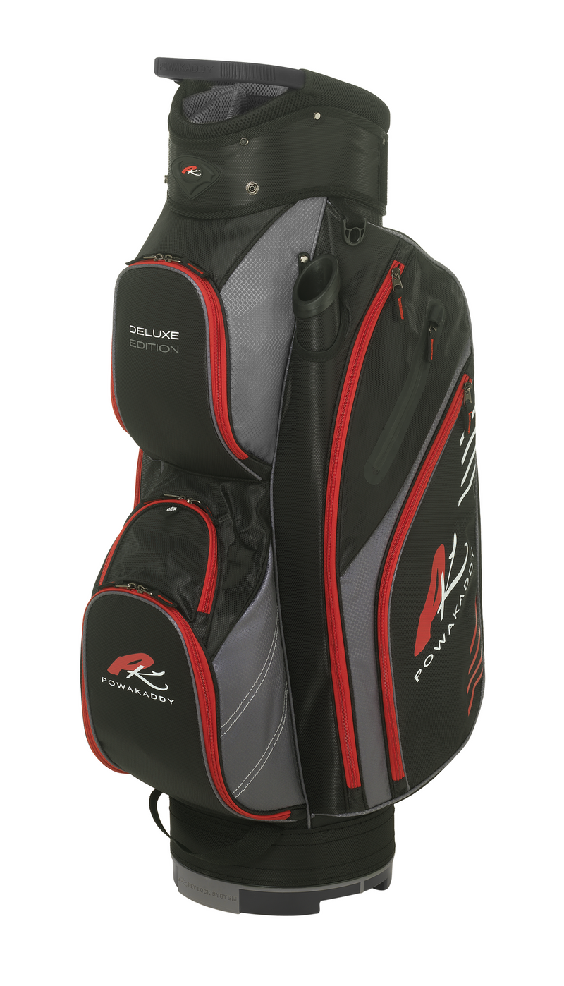 PowaKaddy Premium Edition Blk/Red/Wht Cart Bag