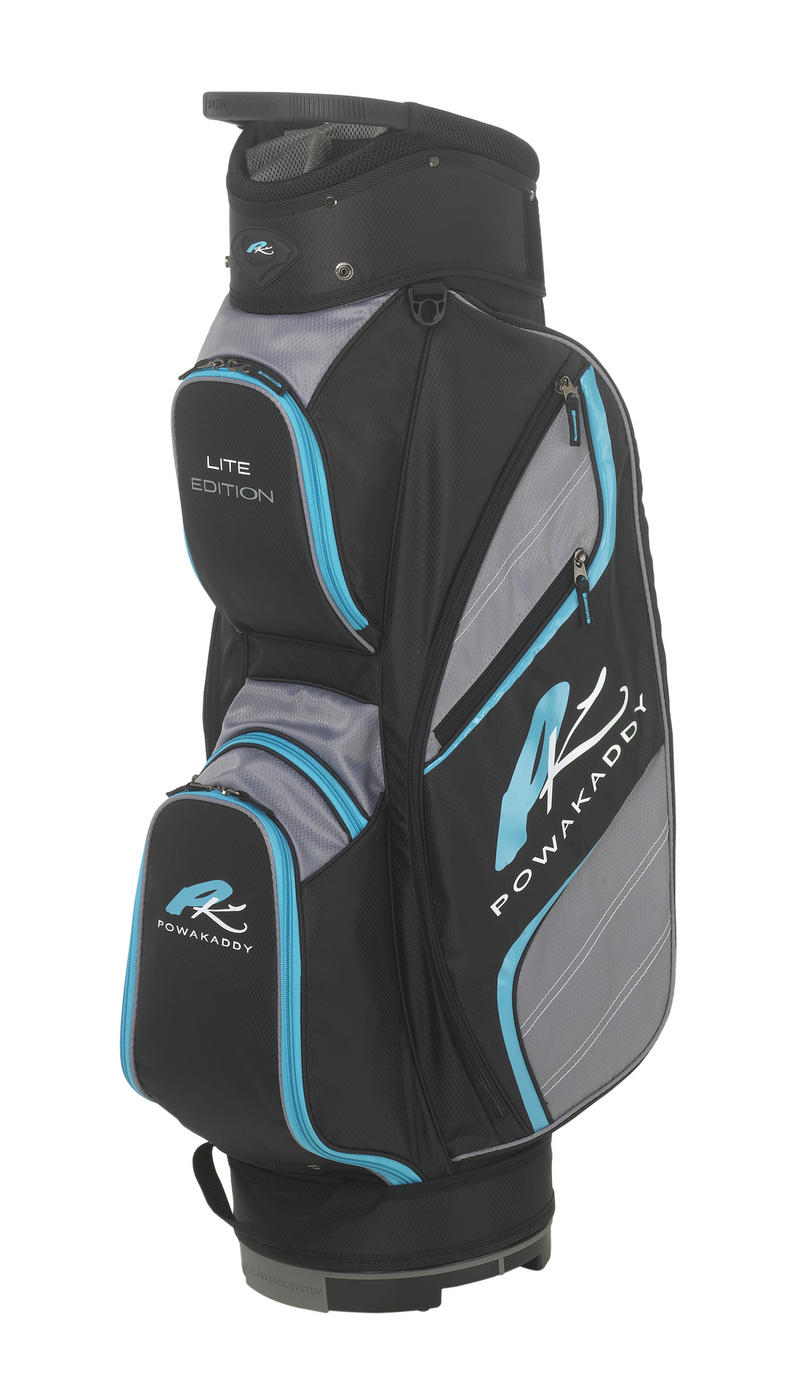 Powakaddy Lite Black/Blue Cart Bag