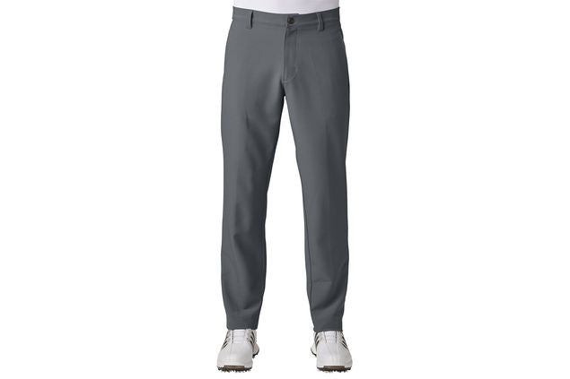 ADIDAS  Grey Golf Ultimate 3 Stripe Trousers