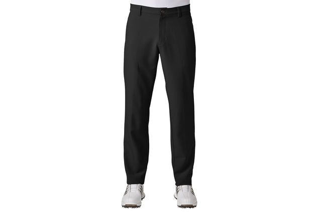 ADIDAS  Black Golf Ultimate 3 Stripe Trousers