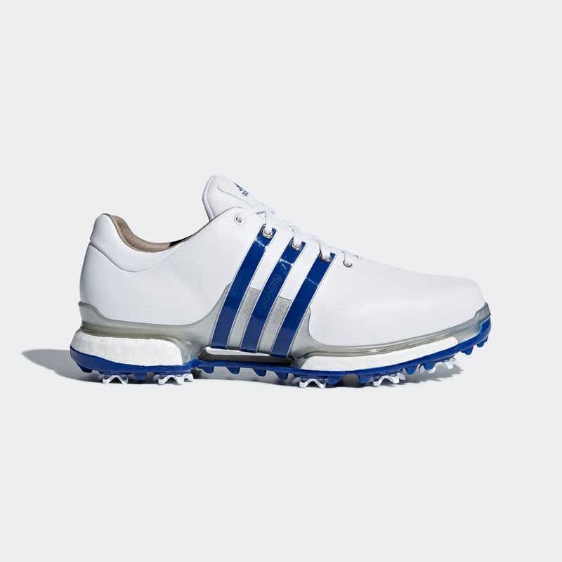 ADIDAS TOUR 360 2.0 Golf Shoes White/Blue/Silver