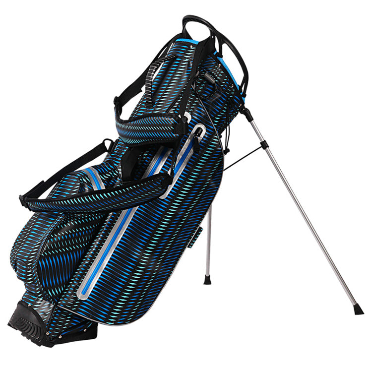 OUUL Python Lightweight Waterproof Black/Blue/Light Blue Golf Stand Bag