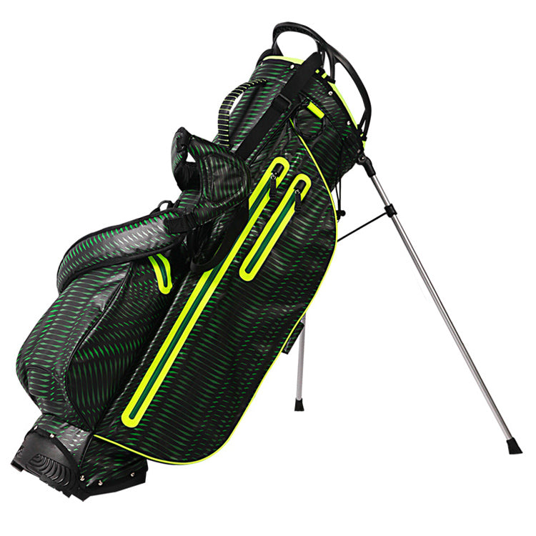 OUUL Python Lightweight Waterproof Black/Green/Dark Green Golf Stand Bag
