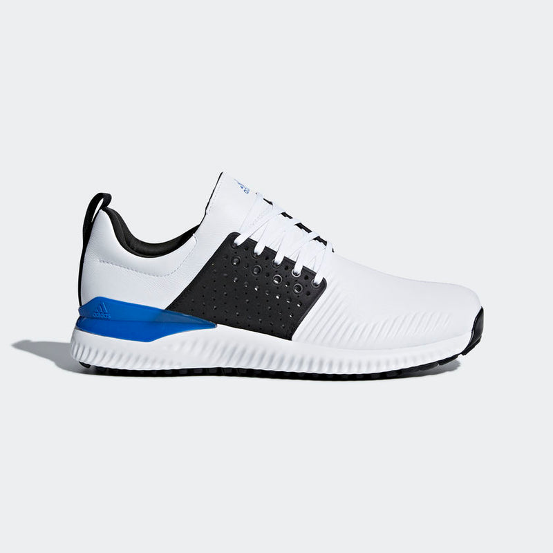 ADIDAS Adicross Bounce Golf Shoes White/Black/Blue