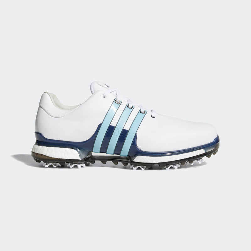 ADIDAS Tour 360 2.0 Golf Shoes White/Blue/Blue