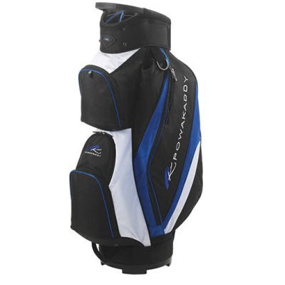 Powakaddy Deluxe  Black/Blue/White Cart Bag