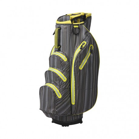 OUUL Python Waterproof Cart Bag Dark Gray/ Light Gray/Orchid