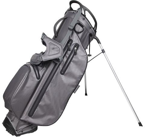 OUUL Python Lightweight Waterproof Dark Grey/Grey Golf Stand Bag