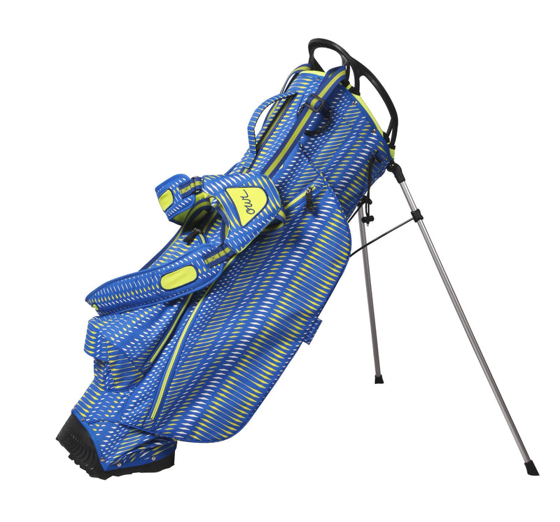 OUUL Python Superlight Stand Bag - Royal / White / Lemon