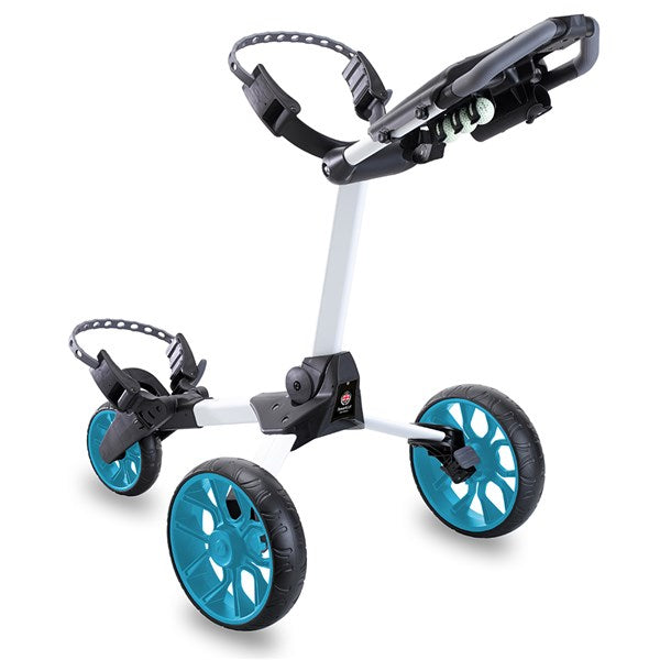 Stewart Golf R1-S Push Trolley White/Blue