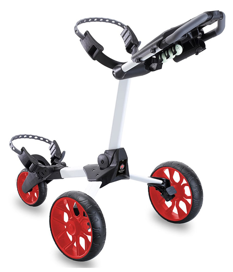Stewart Golf R1-S Push Trolley White/Red