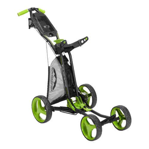 Sun Mountain Micro Cart GT Push Trolley  Green/Grey/Black