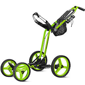 Sun Mountain Micro Cart GT Push Trolley Lime Green