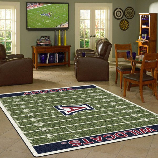 NCAA college football home field rugs