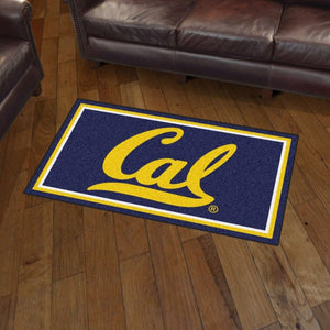 Cal Berkeley Plush Rug  College Area Rug - Fan Rugs