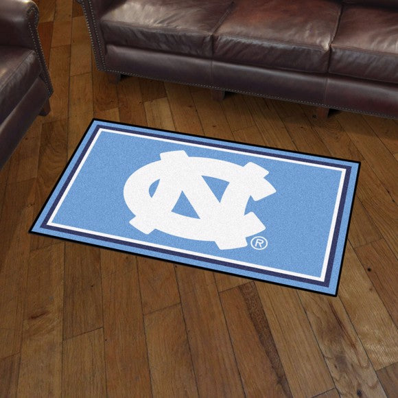 University of North Carolina - Chapel Hill - UNC - Plush Rug  College Area Rug - Fan Rugs