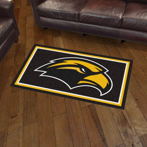 University of Southern Mississippi Plush Rug  College Area Rug - Fan Rugs