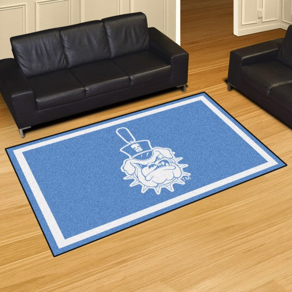 The Citadel Plush Rug  College Area Rug - Fan Rugs