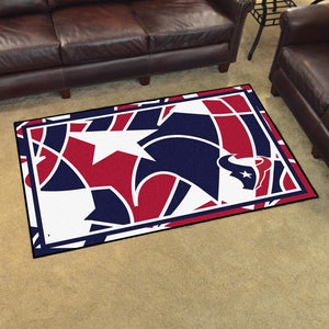 Houston Texans X-Fit 4x6 Plush Rug  NFL Area Rug - Fan Rugs