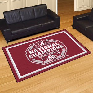 University of Alabama National Champions 2020-2021 Plush Rug
