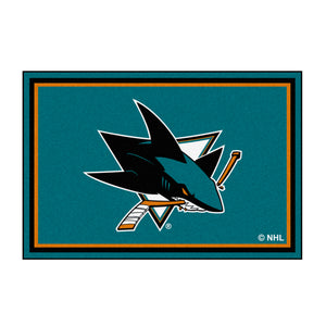 San Jose Sharks Plush Rug