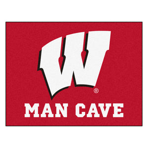 University of Wisconsin Man Cave All Star Mat