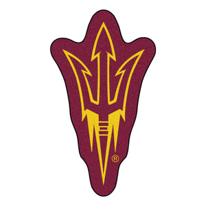 Arizona State University Logo Mascot Mat