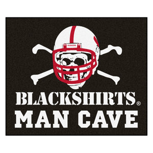 "University of Nebraska ""Blackshirts"" Man Cave Tailgater Mat"
