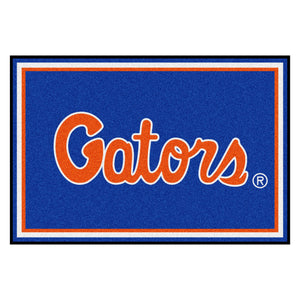 University of Florida Gators Plush Rug  College Area Rug - Fan Rugs