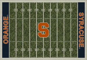 Syracuse University Home Field Rug  College Area Rug - Fan Rugs