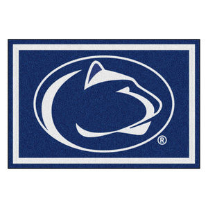 Penn State University Plush Rug  College Area Rug - Fan Rugs