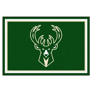 Milwaukee Bucks Rug  NBA Area Rug - Fan Rugs