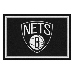 Brooklyn Nets Rug  NBA Area Rug - Fan Rugs