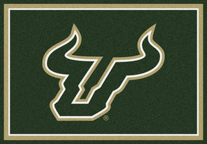 South Florida University Team Spirit Rug  College Area Rug - Fan Rugs