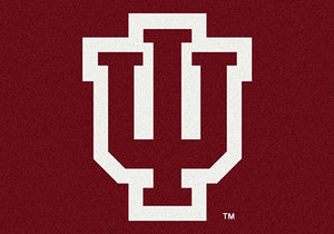 Indiana University Team Spirit Rug  College Area Rug - Fan Rugs