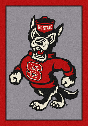 North Carolina State University Team Spirit Rug  College Area Rug - Fan Rugs