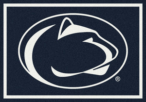 Penn State University Team Spirit Rug  College Area Rug - Fan Rugs