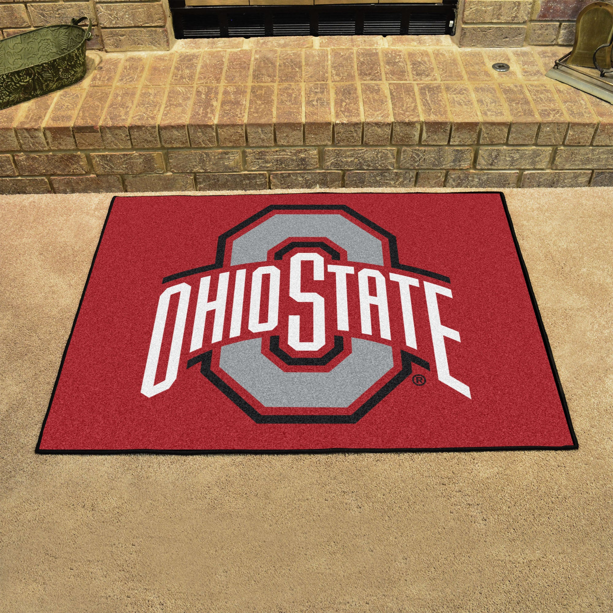 Ohio State University All Star Mat  college all star mat - Fan Rugs