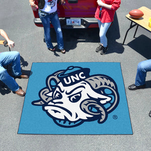 University of North Carolina - Chapel Hill - UNC Mascot Tailgater Mat  College Tailgater Mat - Fan Rugs