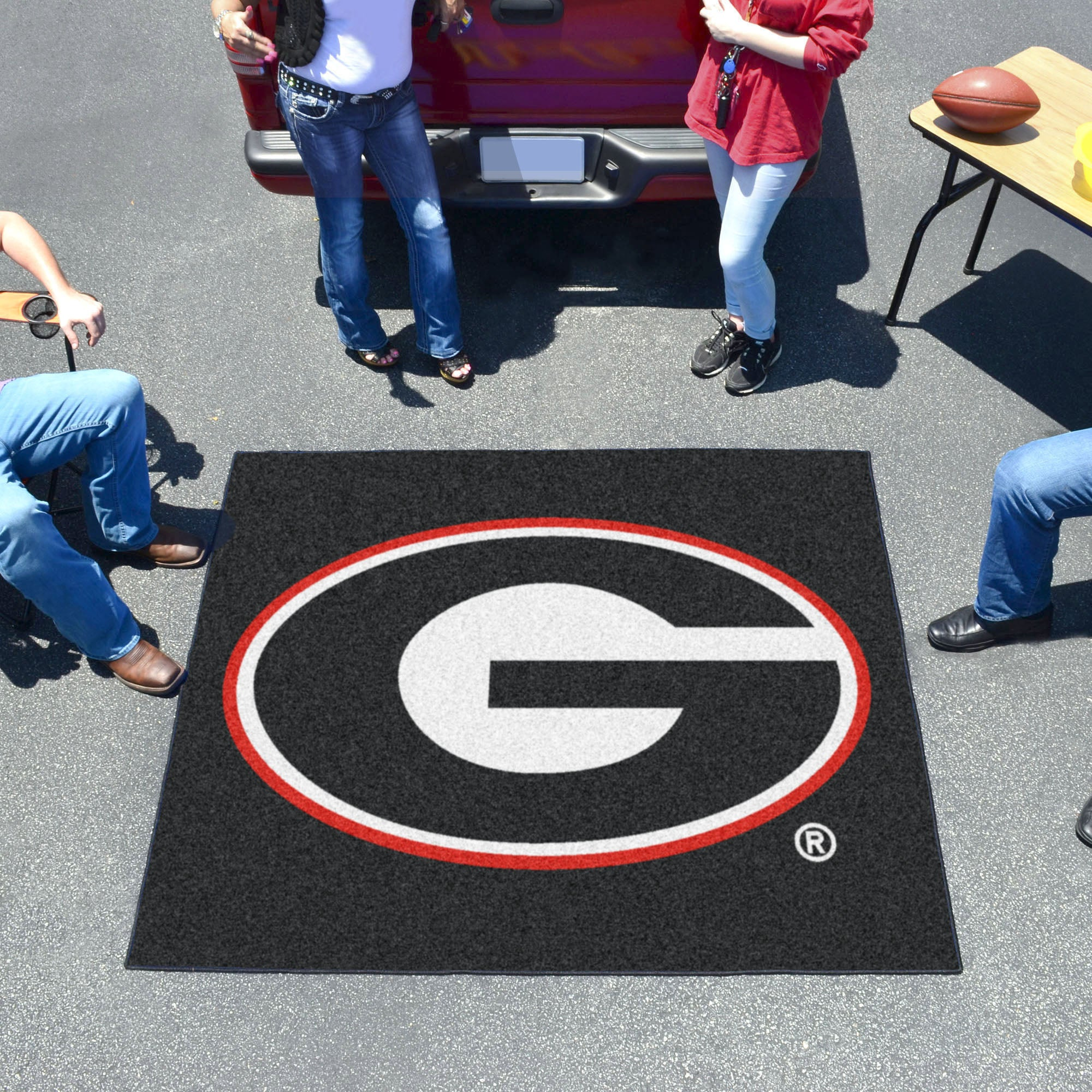 University of Georgia Black Tailgater Mat