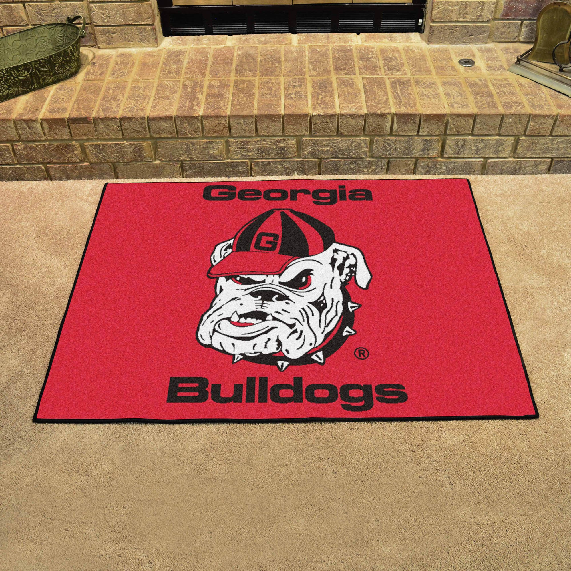 Georgia University Bulldogs All Star Mat